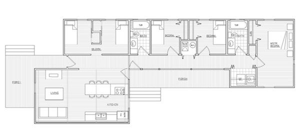 Habitat house floor plans House plan